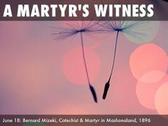 Holy Women Holy Men - June Bernard Mizeki, Catechist and Martyr in Mashonaland For All The Saints, Free Presentation Software, Catechist, Haiku, Missouri, Holi, June, Deck, Movie Posters