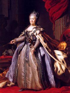 Katharina die Grosse Herrscherin über Russland