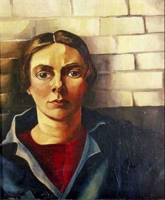 Zelfportret tegen Muur, 1925 Sel portrait against the wall by Charley Toorop (Dutch painter and lithographer) 1891 - 1955 Tachisme, Expressionist Portraits, Selfies, Art Nouveau, Digital Museum, Magic Realism, Harlem Renaissance, Dutch Painters, Collaborative Art