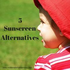 5 Sunscreen Alternatives for Your Kids http://herbsandoilshub.com/5-sunscreen-alternatives/  Really helpful post that covers 5 sunscreen alternatives for your kids.