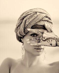 Henna...the art of allure. #temporary #tatoo