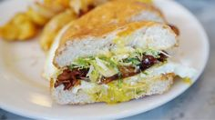 Outstanding Egg Sandwiches in San Francisco