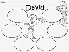 Free:  No David Bubble Organizer. FREEBIE For A Teacher From A Teacher!  Enjoy! fairytalesandfictionby2.blogspot.com