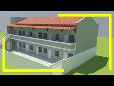 Row House Design, Property Development, Apartment Design, Hostel, Small Apartments, Building Design, Real Estate, Architecture, Dry Bones