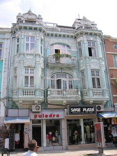 Downtown Varna, Bulgaria
