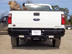 New-Frontier-Gear-Rear-Bumper-08-09-10-11-12-13-14-15-Ford-F250-F350-Super-Duty