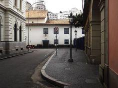 Pátio do colégio. Casa do Padre Anchieta atualmente museu.