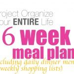 POYEL: Six Week Meal Plan-----I'm obsessed. We are on our third week and this has freed up so much time! Bonus points for being tasty and healthy :)