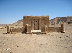 The Temple of Nesi (Pharaoh) Amenhotep III and Great Royal Queen Tiye Het-Heru, El Kab, Egypt.