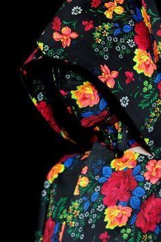 Comme des garcons floral pattern