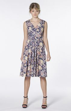 Must Have Dress in Blue Floral