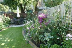 Victorian north facing garden - Garden Design London - Catherine Clancy