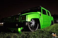 Hummer H2 night shot at the Relaxed All Star Event! http://www.gearheads4life.com/event-coverage/all-star-event-the-night-shots/