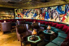 Sling Bar Bali designed by Caroline Usher #ushersbydesign #ubd #bali #design #bar #mural