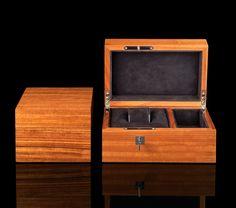 Luxury wooden watch box.