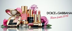 Dolce & Gabbana Rosa Makeup Collection for Spring 2016 #pink #roses