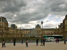 The Louve Museum, Paris, France