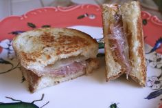 Grilled Cheese Sandwich ala Manchego, Fig Jam and Prosciutto - Presley's Pantry Best Grilled Cheese, Grilled Cheese Recipes, Empanadas, Burritos, Spanish Cheese, Fig Recipes, Dinner Recipes, Tacos, Pizza