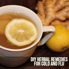 DIY Herbal Remedies for Cold and Flu