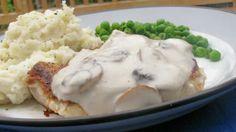 Mushroom Garlic Pork Chops-Awesome recipe used garlic salt