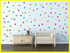 מדבקות קיר נקודות צבעוניות 190 מדבקות. | מדבקולה | מרמלדה מרקט