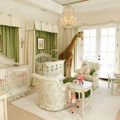 Beautiful twin's nursery