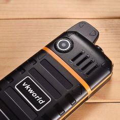 Vkworld Stone V3 Plus 2.4 Inch 4000mAh IP54 Power Bank Dual Sim Strong Signal Outdoorts Mobile Phone Sale - Banggood.com