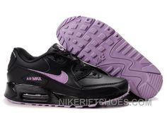 wholesale dealer 94968 70a90 Nike Air Max 90 Womens Black Purple Authentic WsXED, Price   74.00 - Nike  Rift Shoes