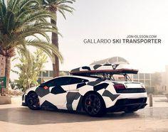 Sweet Lamborghini Gallardo 'Ski Transporter' by Jon Olsson