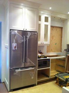 Standard Countertop Depth Kitchen Inspirational Non Counter Depth Fridge With Images Di 2020 Rumah Kulkas