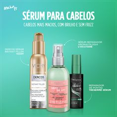 No Make It: Sérum para os cabelos