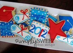 SimplySweet Treat Boutique: Graduation Cookies