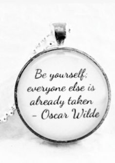 great quote on the pendant