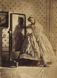 Some of the earliest photos of Victorian women have come to light in a revealing album of prints from the pioneering days of photography. The set of pictures taken by Lady Clementina Hawarden, one of Britain's first female photographers