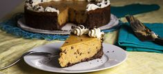 Vegan Pumpkin Chocolate Chip Cheesecake | Follow Your Heart