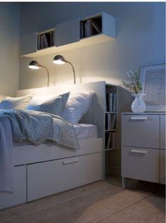 Sänggavel för snedtak