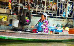 Schwimmendes Restaurant in Bangkok Bangkok, Strand, Thailand, Fair Grounds, Restaurant, Travel, Viajes, Diner Restaurant, Destinations
