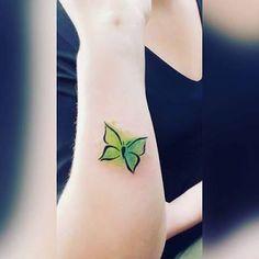 Bildresultat för blue green watercolor tattoo
