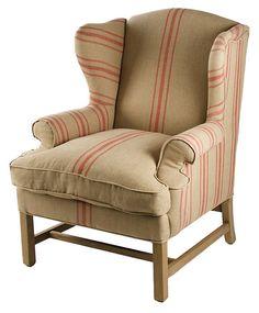 Briarmoor Wingback Chair | En Provence | One Kings Lane