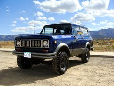 1975 International Harvester : Scout SCOUT II