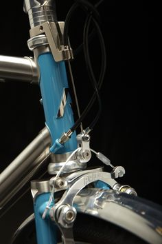 detail of Anderson Custom Bicycles
