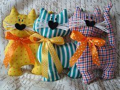 Gatos por Doridecor - SAShE.sk - Brinquedos Artesanais