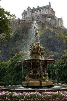 Edinburg castle, Scotland