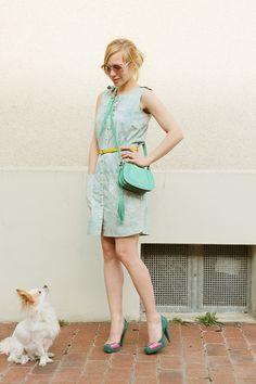 Hemdblusenkleider - Kleid Mera - ein Designerstück von ADRIANARICA bei DaWanda