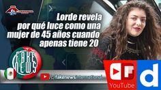 Lorde revela por qué luce como una mujer de 45 años cuando apenas tiene 20