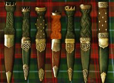 My sgian dubh collection