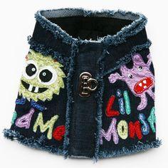 Little Monster Denim Harness