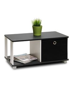 Look what I found on #zulily! Black & White Coffee Table #zulilyfinds