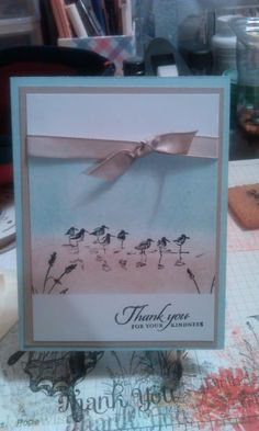 Wetlands Thank You by atlstamper198 - Cards and Paper Crafts at Splitcoaststampers