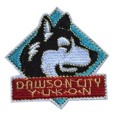 Hot sale embroidery husky head iron on patch for clothes deal with it stick pet patches for clothing diy badge free shipping #Affiliate